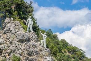 Ореанда достопримечательности памятник Скалолазы