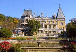 Ялта достопримечательности Массандровский дворец