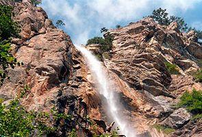 Ялта достопримечательности водопад Учан-Су