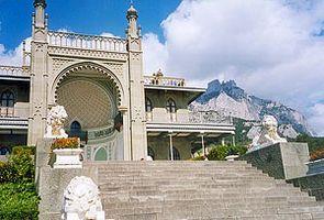 Ялта достопримечательности Воронцовский дворец